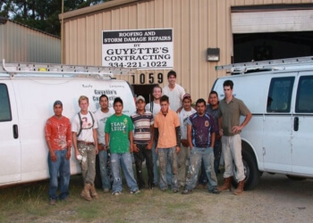 Montgomery roofing contractor Guyette Roofing and Construction