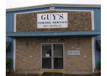 Baton Rouge towing company Guy's Towing Service, Inc.