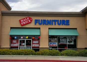 Henderson furniture store HALF PRICE FURNITURE
