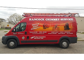 Grand Rapids chimney sweep HANCOCK CHIMNEY SERVICE