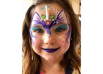 Thousand Oaks face painting HAPPY RAINBOW ARTISTIC FACE PAINTING