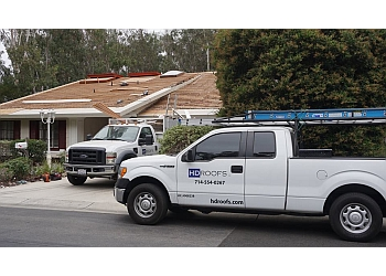 Santa Ana roofing contractor HD Roofs, Inc.