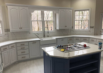 Huntsville custom cabinet H&H Custom Woodworking and Refinishing