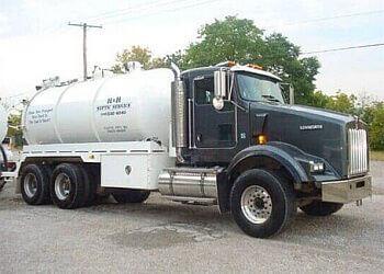 Kansas City septic tank service H & H Septic Service,Inc.