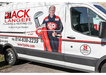 Erie plumber H. Jack's Plumbing & Heating Co.