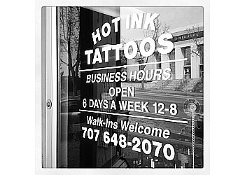 Vallejo tattoo shop HOT INK TATTOOS AND BODY PIERCINGS