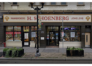 Jersey City pawn shop H. Schoenberg