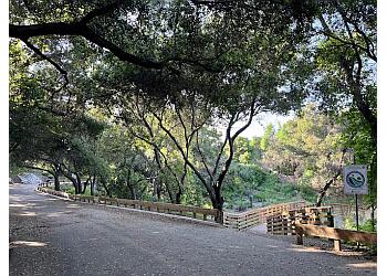 Pasadena hiking trail Hahamongna Watershed Park