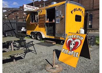 Seattle food truck Hallava Falafel