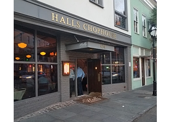 Charleston steak house Halls Chophouse