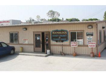 Riverside auto body shop Hamblins Body, Paint & Frameshop