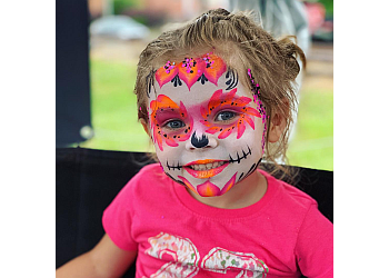 Charlotte face painting Hamm It Up Face Painting