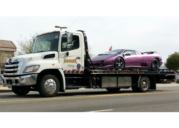 Corona towing company Hamner Towing Inc.