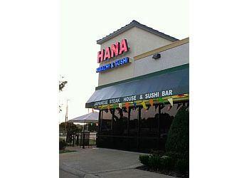 Garland japanese restaurant Hana Hibachi & Sushi