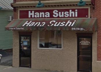 Allentown sushi Hana Sushi