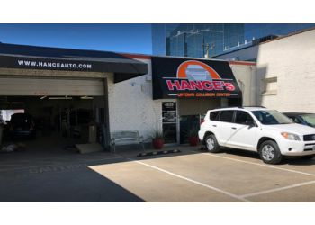 Dallas auto body shop Hance's Uptown Collision Center