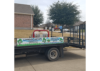 Grand Prairie landscaping company Hancock Glen Inc