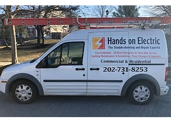 Washington electrician Hands on Electric