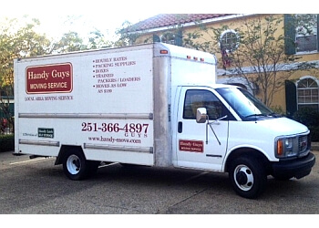 Mobile moving company Handy Guys Moving Service
