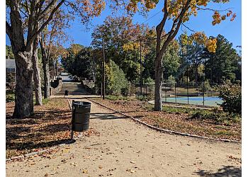 Winston Salem public park Hanes Park