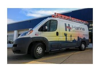 Wichita hvac service Hanna Heating and Air Conditioning Inc.