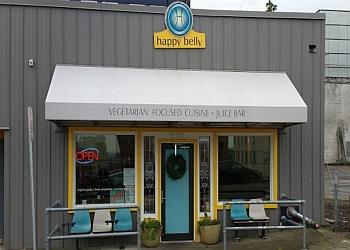 Tacoma vegetarian restaurant Happy Belly restaurant