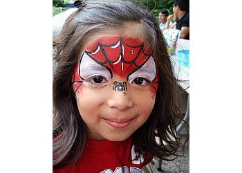 Yonkers face painting Happy Faces