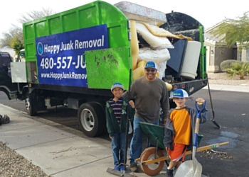 Scottsdale junk removal Happy Junk Removal