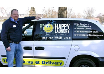 Spokane dry cleaner Happy Laundry and Dry Cleaning