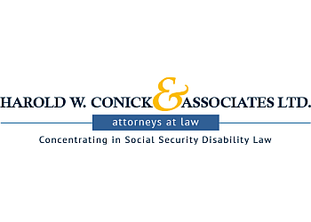 Aurora social security disability lawyer Harold W. Conick & Associates Ltd.