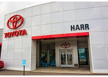 Worcester car dealership HARR TOYOTA
