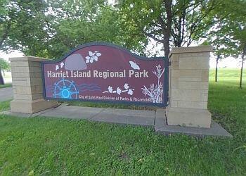 St Paul public park Harriet Island Park