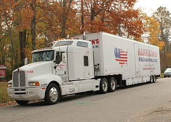 Chesapeake moving company Harrison's World Wide Moving, Co. Inc.
