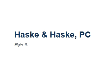 Elgin real estate lawyer Haske & Haske, PC