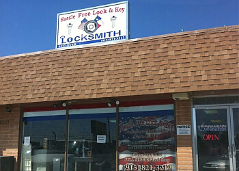 El Paso locksmith Hassle Free Lock & Key