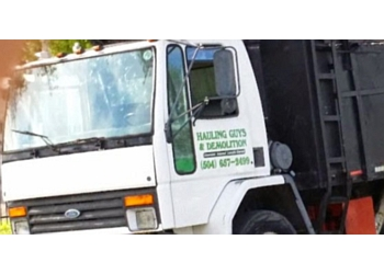 New Orleans junk removal Hauling Guys & Demolitions LLC