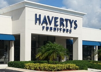 Port St Lucie furniture store Havertys Furniture