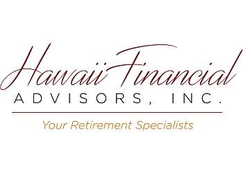 Honolulu financial service Hawaii Financial Advisors, Inc.