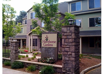 Portland assisted living facility Hawthorne Gardens Senior Living Community