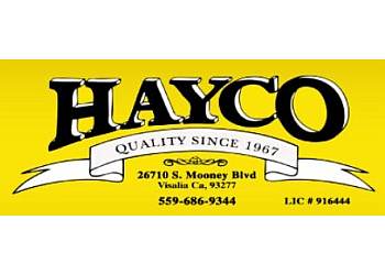Visalia roofing contractor Hayco Construction,Inc.