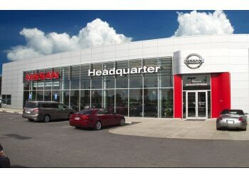 Columbus car dealership Headquarter Nissan