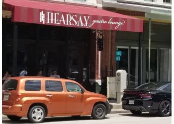Houston american restaurant Hearsay Market Square