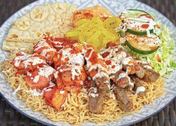 Sacramento food truck Hefty Gyros