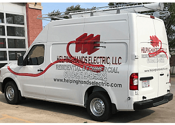 Madison electrician Helping Hands Electric