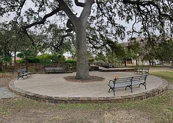 San Antonio public park Hemisfair Park