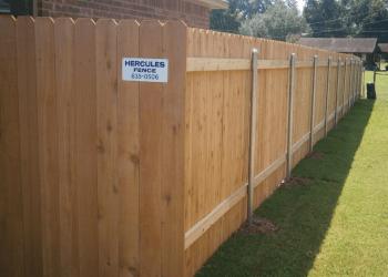 Shreveport fencing contractor Hercules Fence