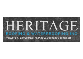 Honolulu roofing contractor Heritage Roofing & Waterproofing, Inc.