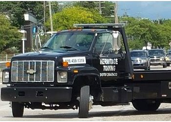 Grand Rapids towing company Hermitage Towing LLC
