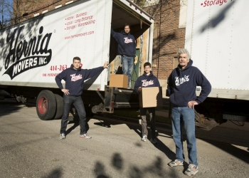 Milwaukee moving company Hernia Movers, Inc.