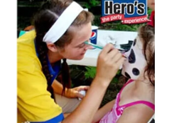 Toledo face painting Hero's Party Experience